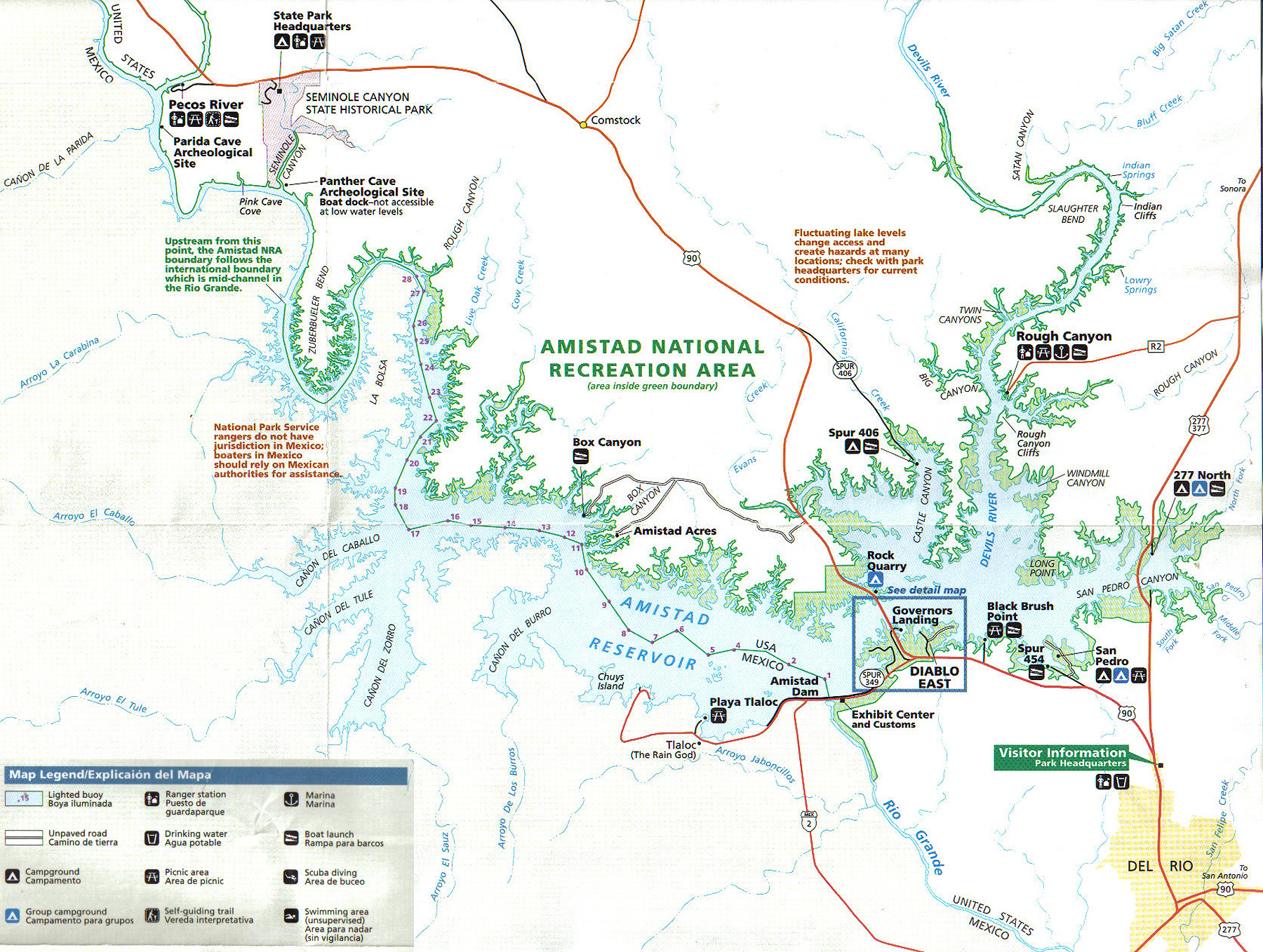 val verde county texas map with Lake Amistad Maps on 3319041194 additionally C f testaceus likewise Del Rio in addition Medina County Clerk also Slavery In Pre Columbian America.